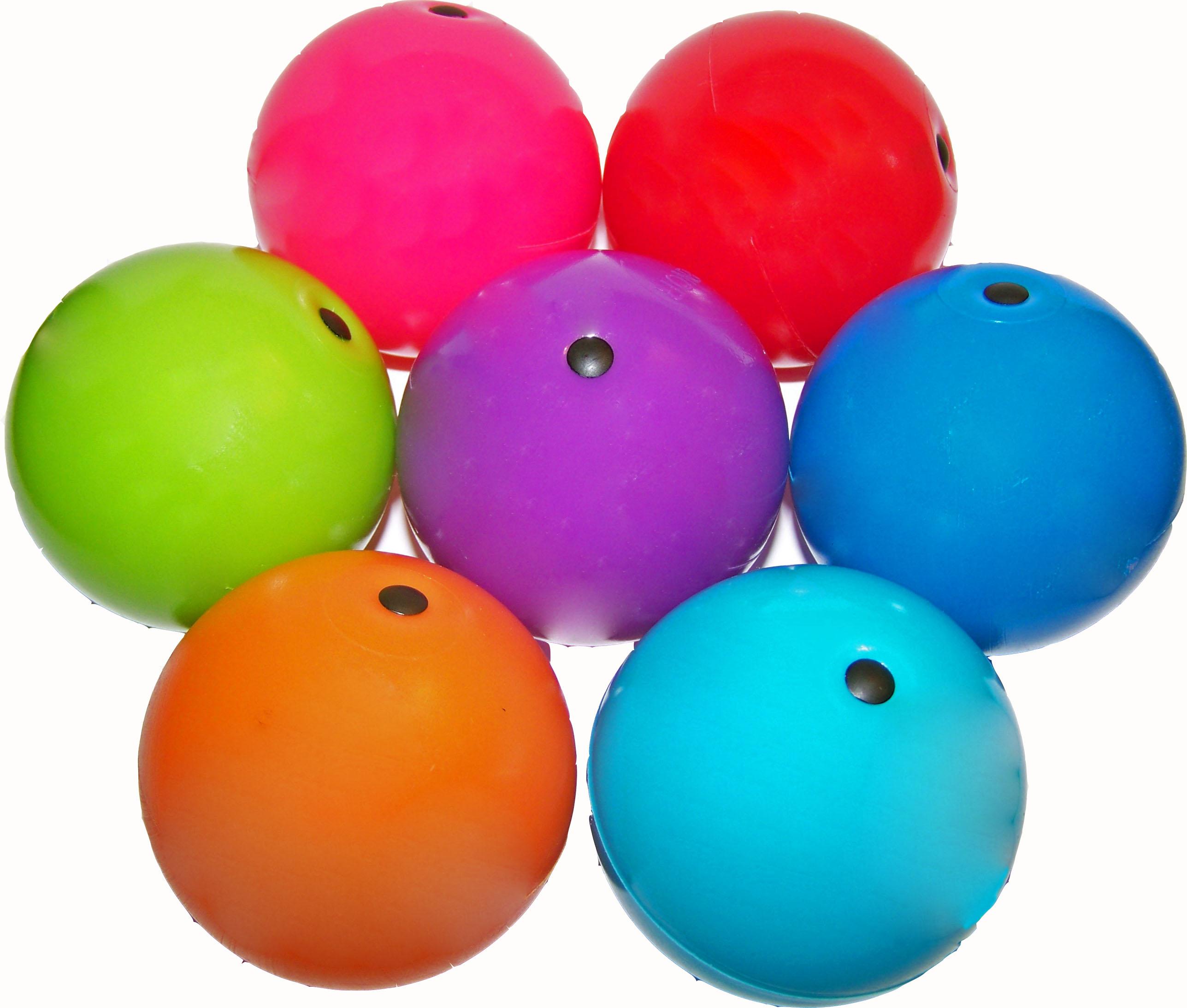 russian balls - hybrid juggling balls